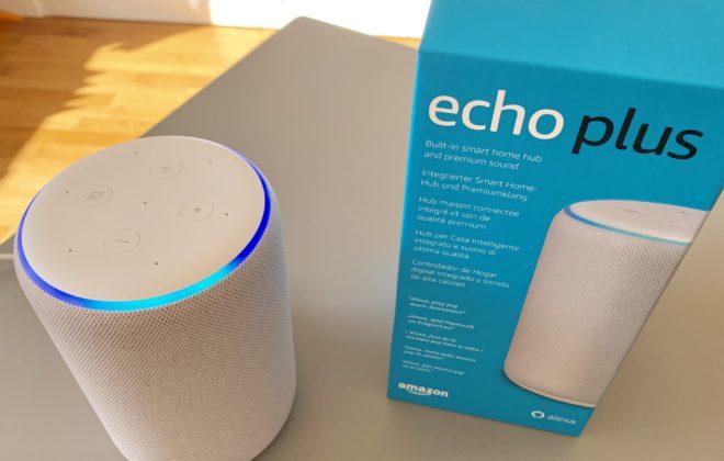 Assistant vocal Amazon Echo Plus Copyright caravelle digital