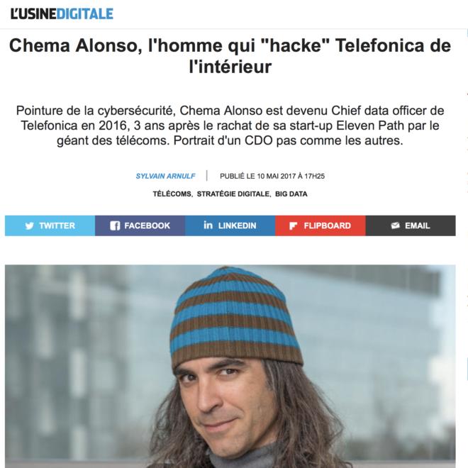 L'Usine Digitale_Chema Alonso_L'homme qui hacke Telefonica de l'intérieur