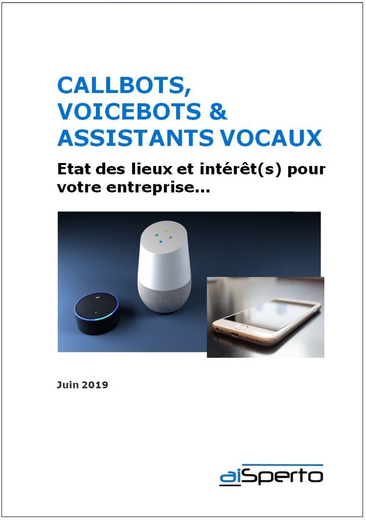 Livre Blanc aiSperto CallBots VoiceBots Assistants Vocaux Copyright aiSperto
